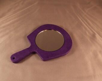 Small Purple Mirror