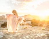 Sidney Gown • Girls Infinity Gown • Girls Princess Dress • Flower Girl Dress •Girls Floor Length Gown