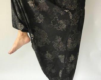 HC0002 Harem Pants Unisex Low Crotch Yoga Trousers