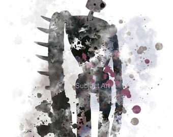 Laputa Robot, Castle in the Sky ART PRINT illustration, Studio Ghibli, Anime, Wall Art, Home Decor