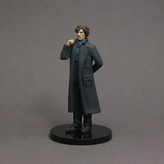 Sherlock Holmes Bbc 54mm Collection Figure Resin Kit