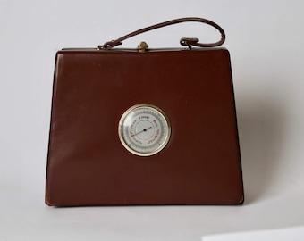 RARE 1950's Murray Kruger Barometer Purse
