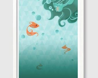 Under Water Print