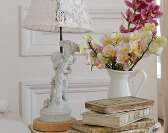 """Antique French """"Boizot"""" Porcelain Lampbase"""