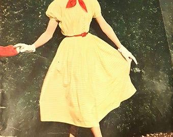 1950s German Fashion Magazine - Eva Moden  Like Burda - June 1953 - Sewing Patterns Included - 1950s Fashion - Vintage Fashion
