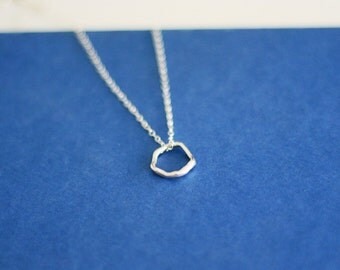 Imperfect Circle Necklace