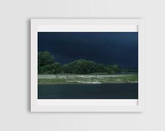 storm photography, fine art photography, canvas photo prints, wall art decor, landscape photography, nature photography, river photography