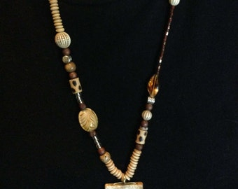 Handmade Asymmetrical Necklace