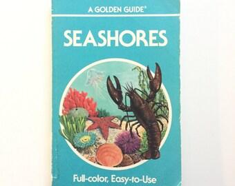 Vintage Seashores Golden Guide / Golden Nature Guide / Vintage Field Guide / Book on the Ocean / Beach Book / Homeschool Book
