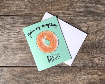 You're My Everything BAEgel Greeting Card