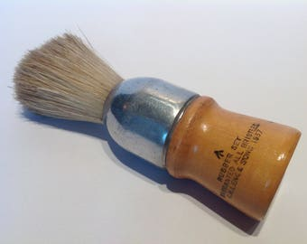 WW2 Period British Military Issue Shaving Brush by C.H.Leng & Sons. 1937. WW2 Reenactment. Army Shaving Brush.