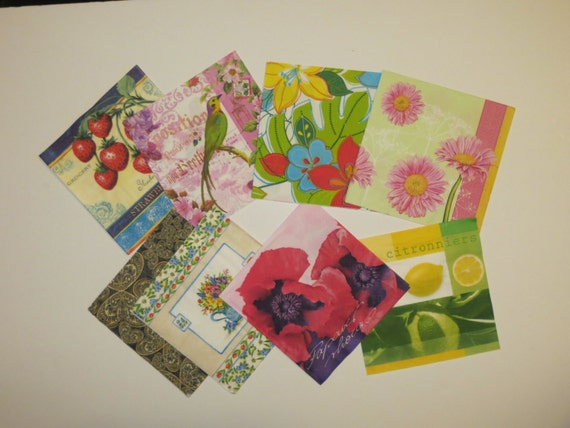 craft ideas with paper napkins items similar to paper napkin decoupage napkins set 6335