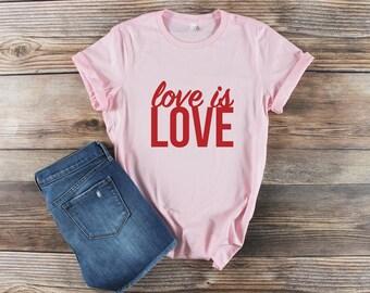 Gay Pride Shirt/ Love is Love Shirt/ Equality Shirt/ Resist Shirt/ Pride Parade Shirt/ Pride March Shirt/ Gay Shirt LGBT Shirt Lesbian Shirt