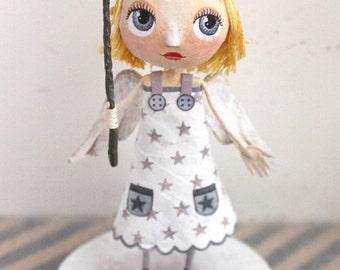 Little angel, OOAK doll