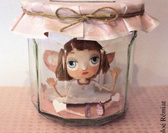 """Fairy jam """"Love in sugar"""", OOAK DOLL"""