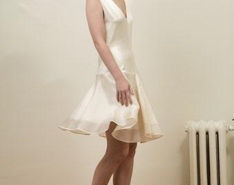 Silk Short Wedding Dress - Wilder