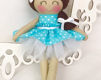 Handmade Dolls- Fabric Doll- Gifts for girls