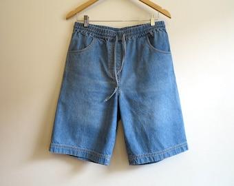 Vintage denim shorts | Etsy