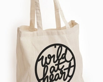 Canvas Tote - Wild at Heart