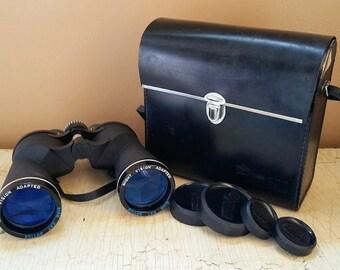 Vintage K Mart Focal 10 x  50 Binoculars  Siam Cat Optics with Case