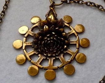 Necklace. Pentti Sarpaneva. Bronze. Finland. Vintage.