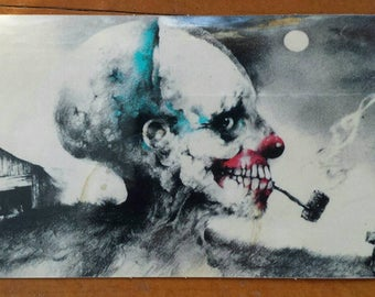 FREE SHIPPING! Scary Stories To Tell In The Dark Sticker, Stephen Gammell, Alvin Schwartz, 80s, Horror