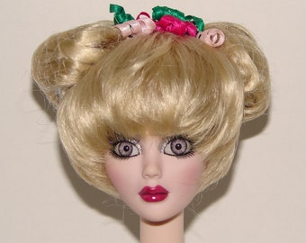 Mimi Light Blonde Wig with Side Buns(size 6/7) for Ball Jointed Dolls by Make It Mine