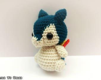 Crochet Typhlosion Inspired Chibi Pokemon