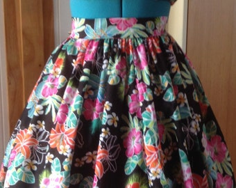 Vintage style skirt and top . Custom made.