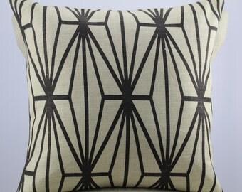 Kelly Wearstler fabric,pillow cover,throw pillow,accent pillow,decorative pillow,lumbar pillow same fabric on front and back.