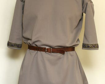 M Grey Viking Tunic