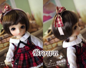 bjd doll girl wig L-S05 (3 colors) for imda 1.7 ae xaga ai bisou dz