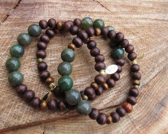 The Green Machine / Men's Jewelry / Gifts / Gemstones, Agate