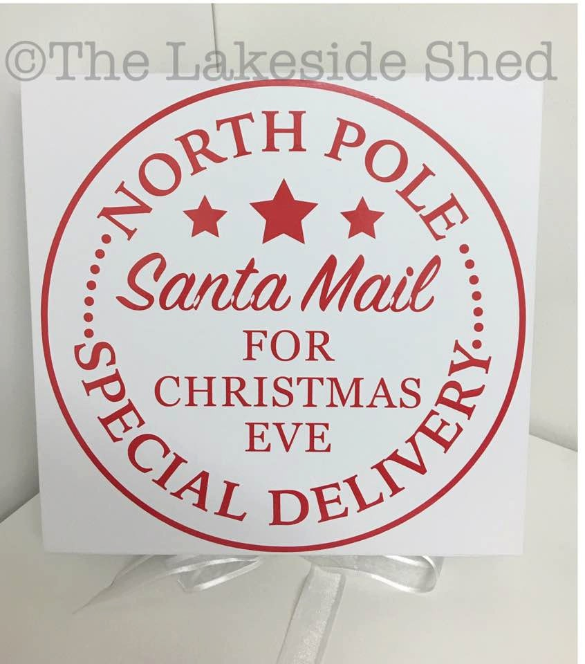 Christmas Eve Box North Pole Santa Mail Special Delivery