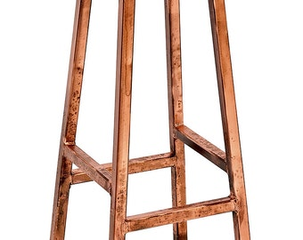 Copper Plated Bar Stool 'Colin'