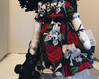 Nyx-OOAK Mad Rag Dolls-Gothic