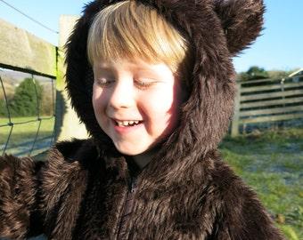 Handmade Childs Bear Costume