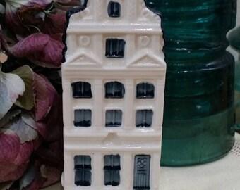 Vintage KLM Bols Delft Blue House #69