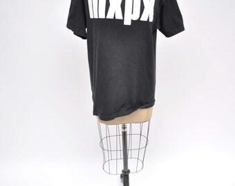 vintage tshirt MXPX t-shirt 1990s oversized boyfriend fit 90s punk