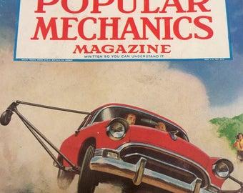 Vintage 1956 Popular Mechanics Magazine