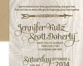 Wedding Vellum Invitation...
