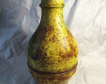Marcello Fantoni Glazed Ceramic Vase