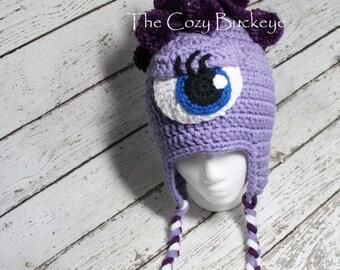 Monster's Inc. Hat Celia Monster Hat Character Hat Photography Prop Photo Prop Sizes Newborn - Adult Halloween Costume
