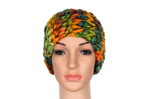 Headband Knit Winter Wool Head Warmer Boho Girls Headwrap Warm Wool Headband Wide Boho Headband Knit Ear Warmers Gift for her Stocking