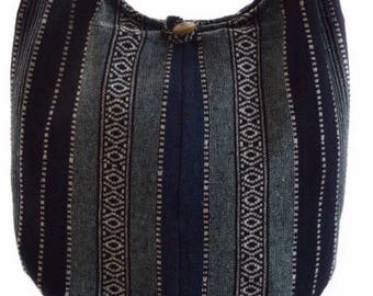 Woven cotton shoulder bag. Messenger,Hippie, Gypsy, Sling,Hippy, Hobo, Crossbody
