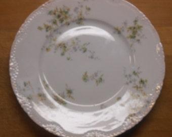 Haviland Limoges Salad Plate Schleiger 150-22
