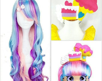Rainbow Wig and Headband