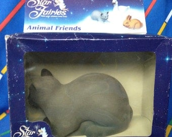 Vintage 1985 Tonka Star Fairies ANIMAL FRIEND cat, rare doll accessories. American version Hornby Flower Fairies dolls MiB mint New /Boxed