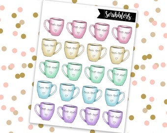 Mug // Limited Edition [24HR ONLY] (Glossy Planner Stickers)