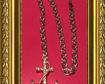 Ceiling Fan Pull Chain / Home Decor - Silver Anchor - Silver Link Chain - Anchor Fan Pull - Bling Anchor